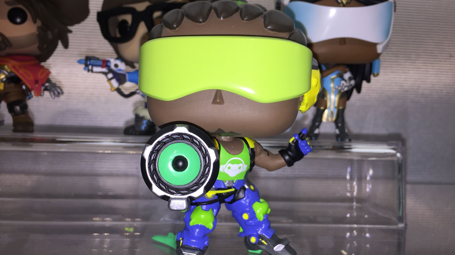 Funko Pop Overwatch Lucio Vinyl Figures at Toy Fair 2017