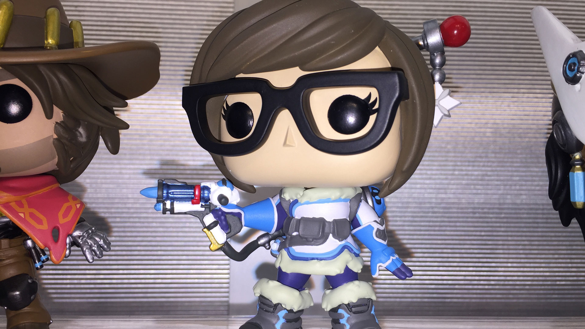 Funko Pop Overwatch Mei Vinyl Figures at Toy Fair 2017