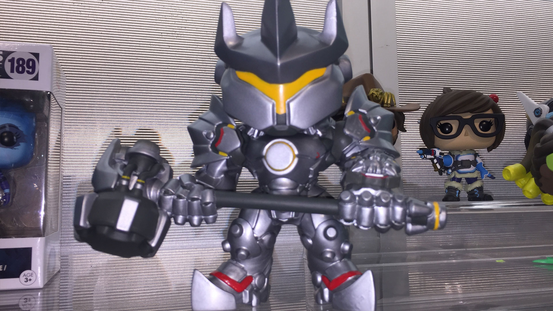 Funko Pop Overwatch Reinnhardt Vinyl Figures at Toy Fair 2017