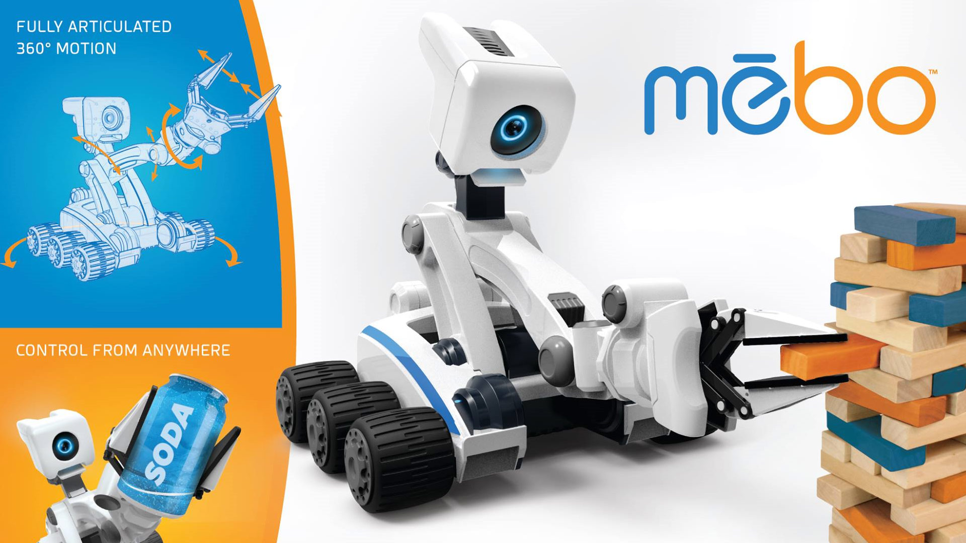 Mebo Robot Toy Fair 2017