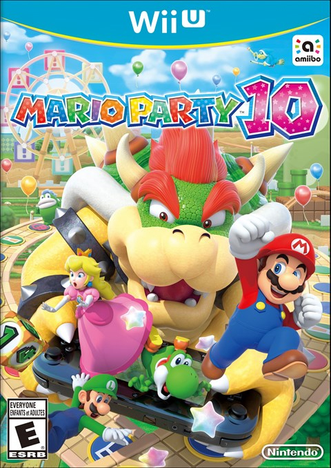 Mario Party 10 Box Art