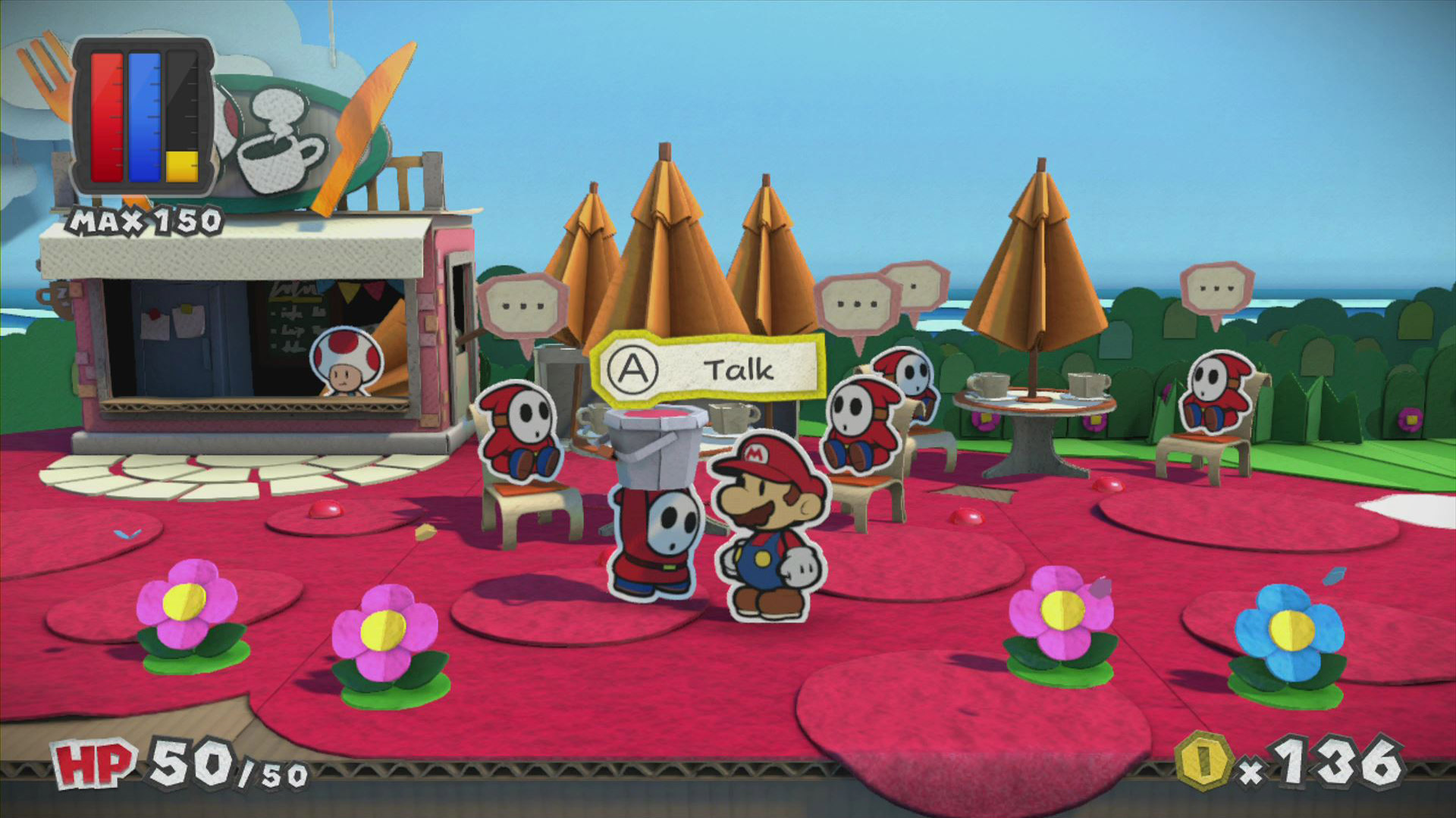 Paper Mario Color Splash Wallpaper Screenshot