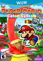 Paper Mario: Color Splash Box Art