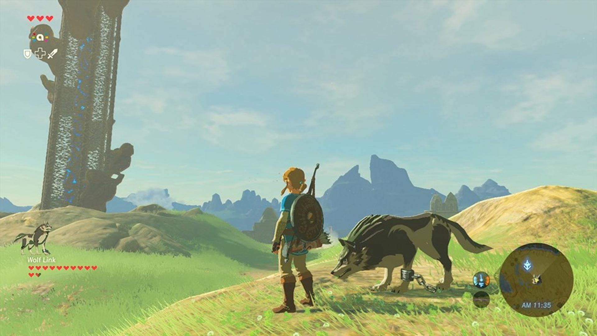 The Legend of Zelda: Breath of the Wild Wolf