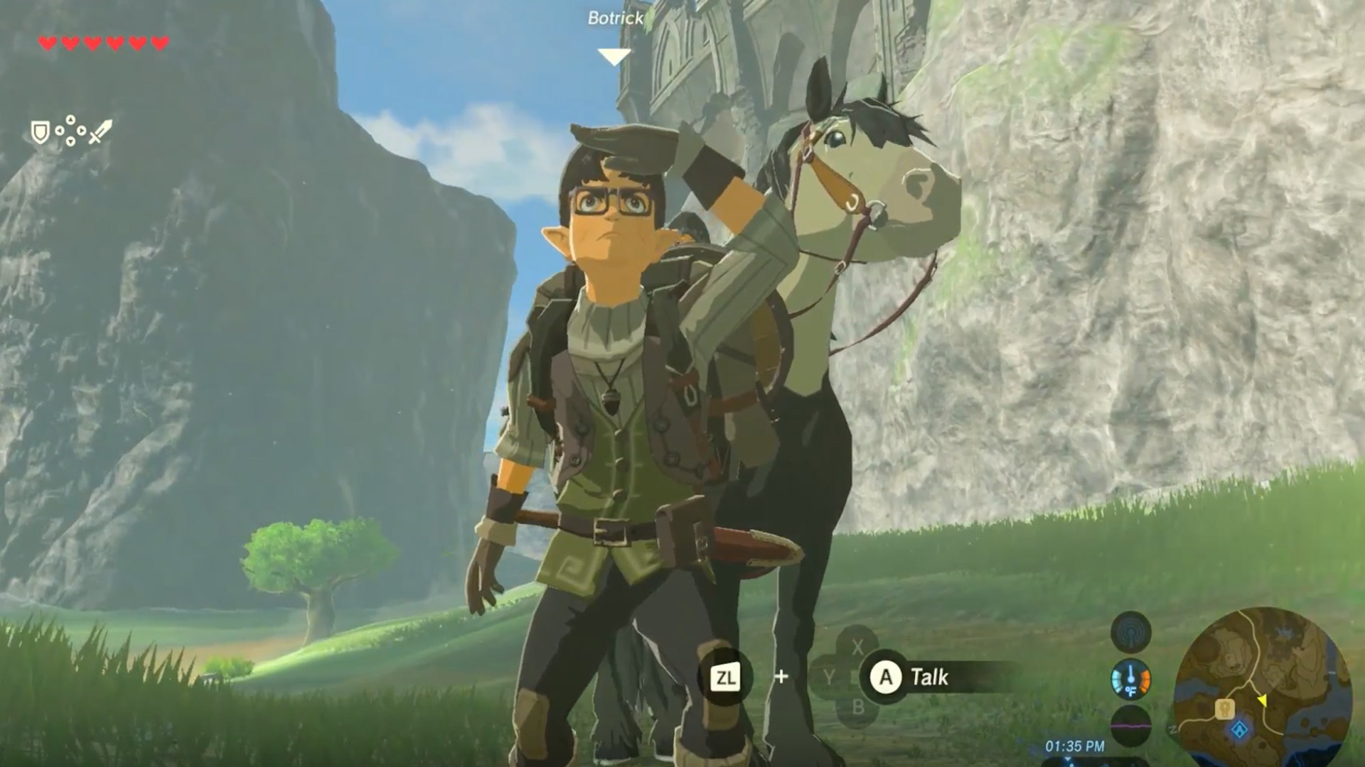 Legend of Zelda: Breath of the Wild Iwata Tribute Found