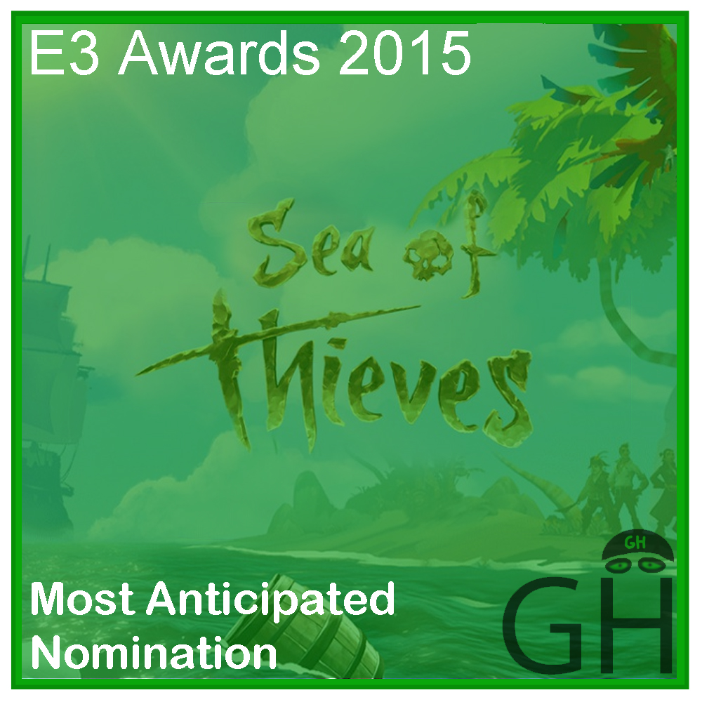 E3 Award Most Anticipated Game Nomination Sea of Thieves