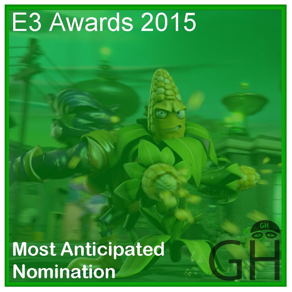 E3 Award Most Anticipated Game Nomination Plants vs Zombies Garden Warfare 2