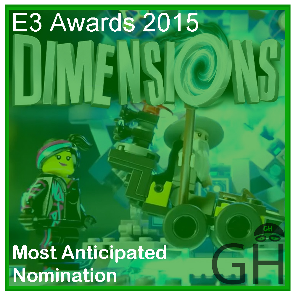 E3 Award Most Anticipated Game Nomination LEGO Dimensions