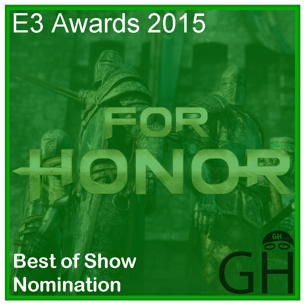 E3 Award Best of Show Nomination For Honor