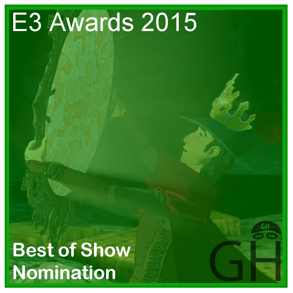 E3 Award Best of Show Nomination King's Quest