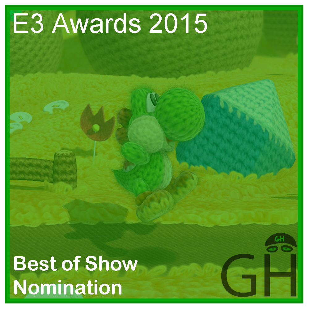 E3 Award Best of Show Nomination Yoshi's Wooly World