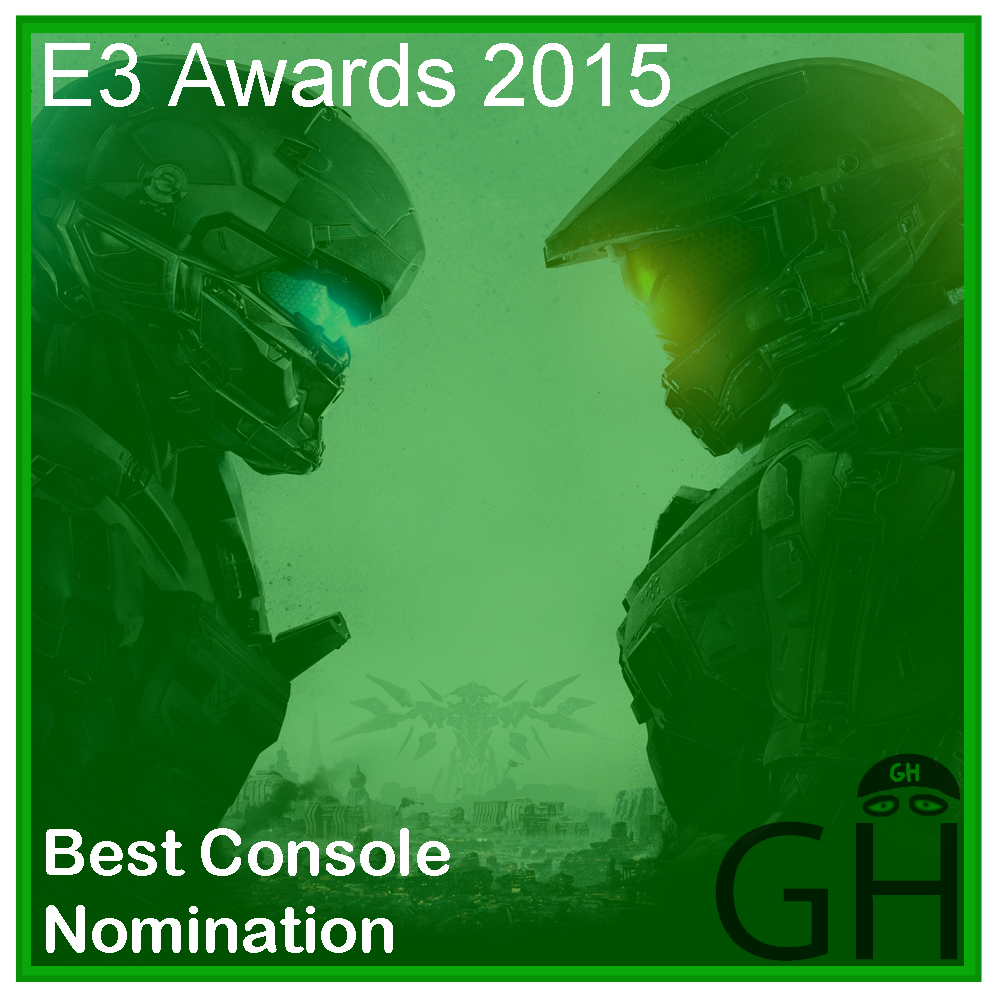 E3 Award Best Console Game Nomination Halo 5: Guardians