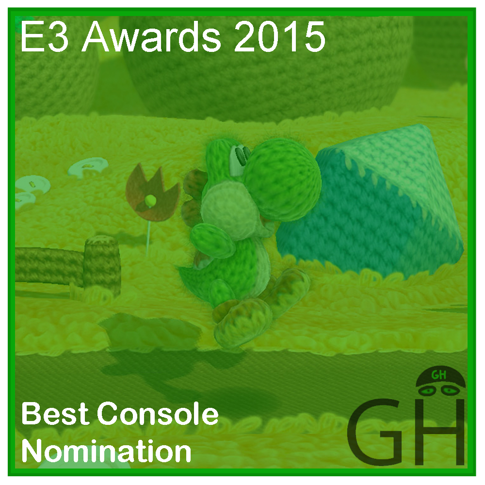 E3 Award Best Console Game Nomination Yoshi's Wooly World