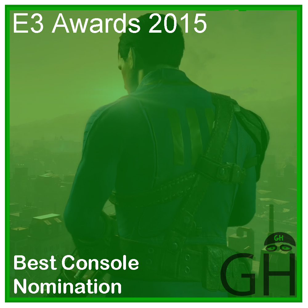 E3 Award Best Console Game Nomination Fallout 4