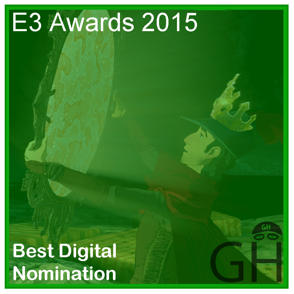 E3 Award Best Digital Game Nomination King's Quest