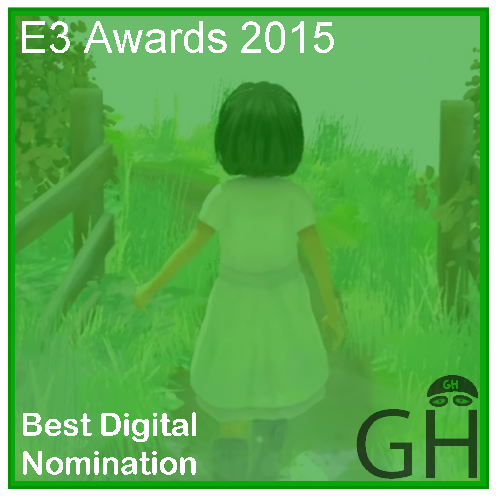 E3 Award Best Digital Game Nomination Beyond Eyes