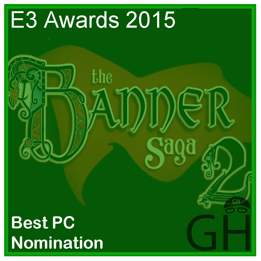 E3 Award Best PC Game Nomination The Banner Saga 2