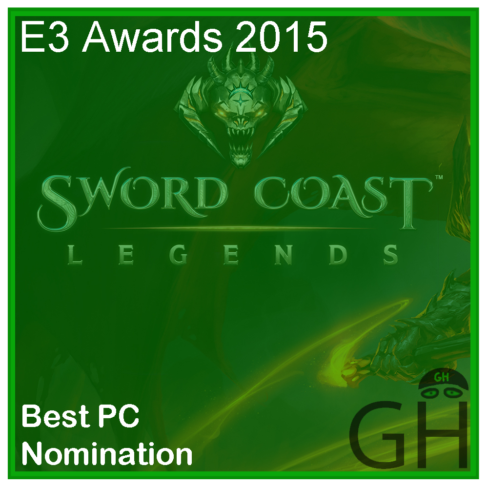 E3 Award Best PC Game Nomination Dungeons and Dragons Sword Coast Legends