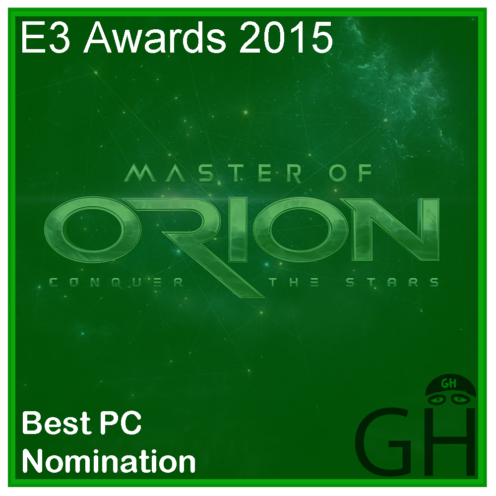 E3 Award Best PC Game Nomination Master of Orion