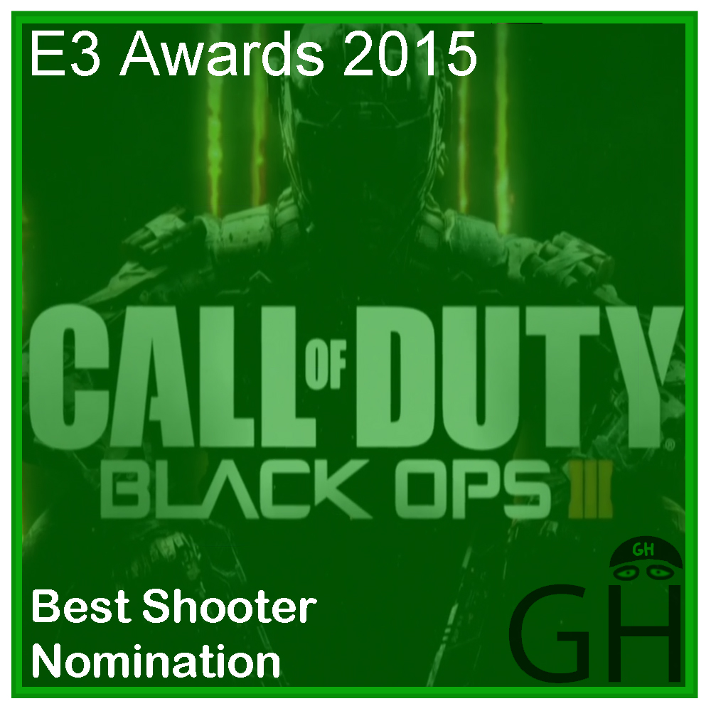 E3 Award Best Shooter Nomination Call of Duty Black Ops 3