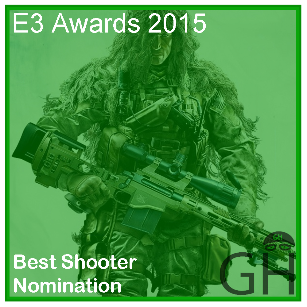 E3 Award Best Shooter Nomination Sniper Ghost Warrior 3