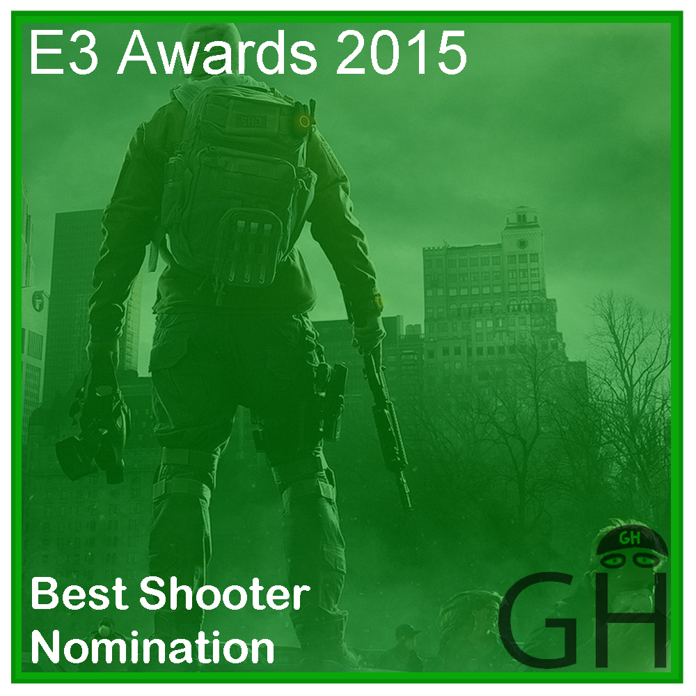 E3 Award Best Shooter Nomination The Division
