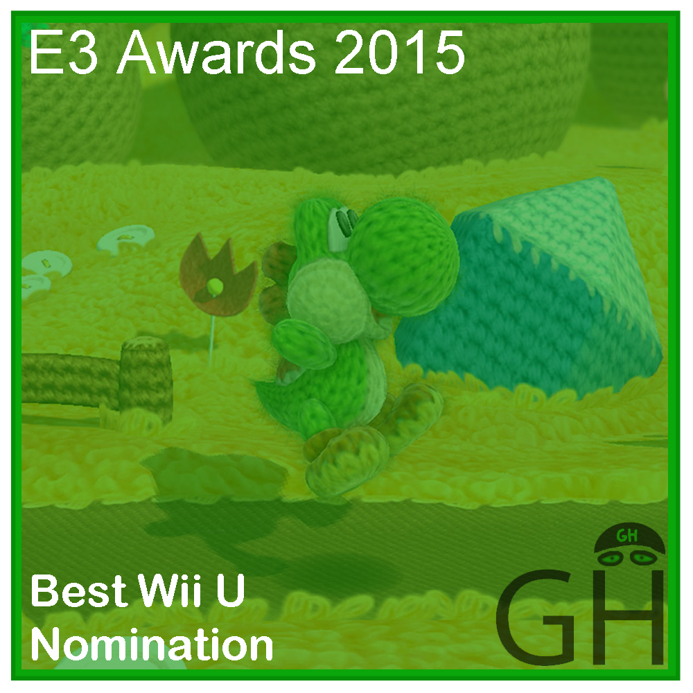 E3 Award Best Wii U Nomination Yoshi's Wooly World