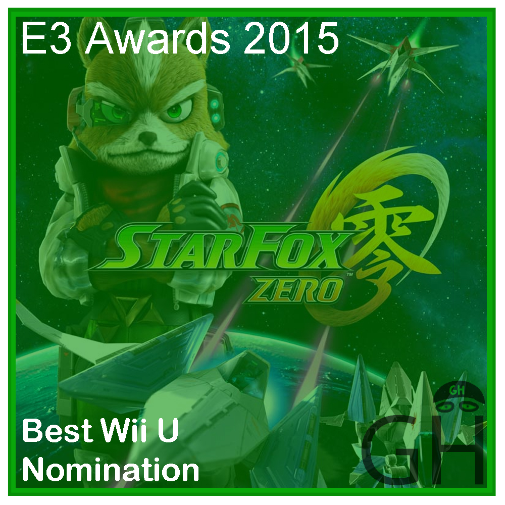 E3 Award Best Wii U Nomination Star Fox Zero