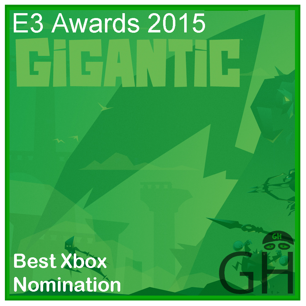 E3 Award Best Xbox Nomination Gigantic