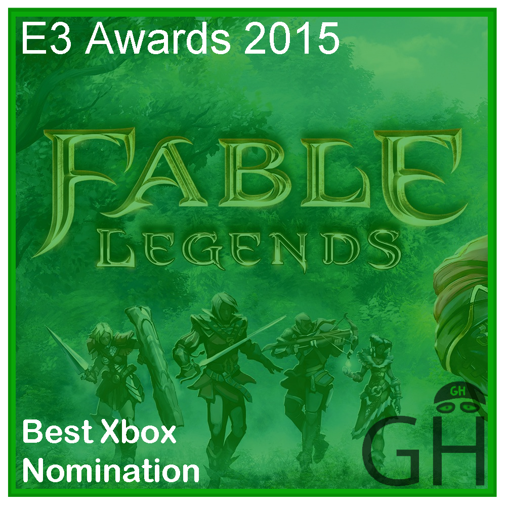E3 Award Best Xbox Nomination Fable Legends