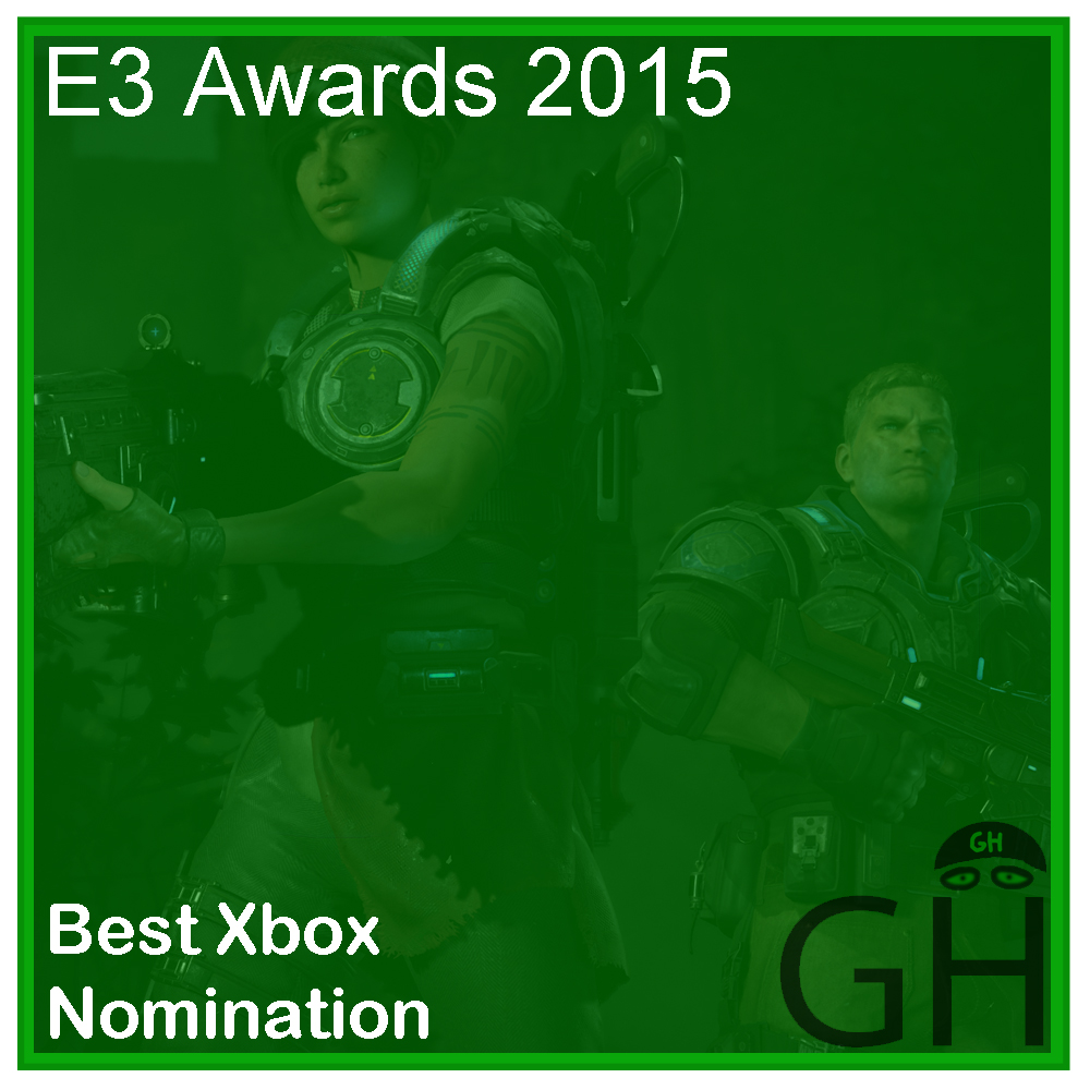 E3 Award Best Xbox Nomination Gears of War 4