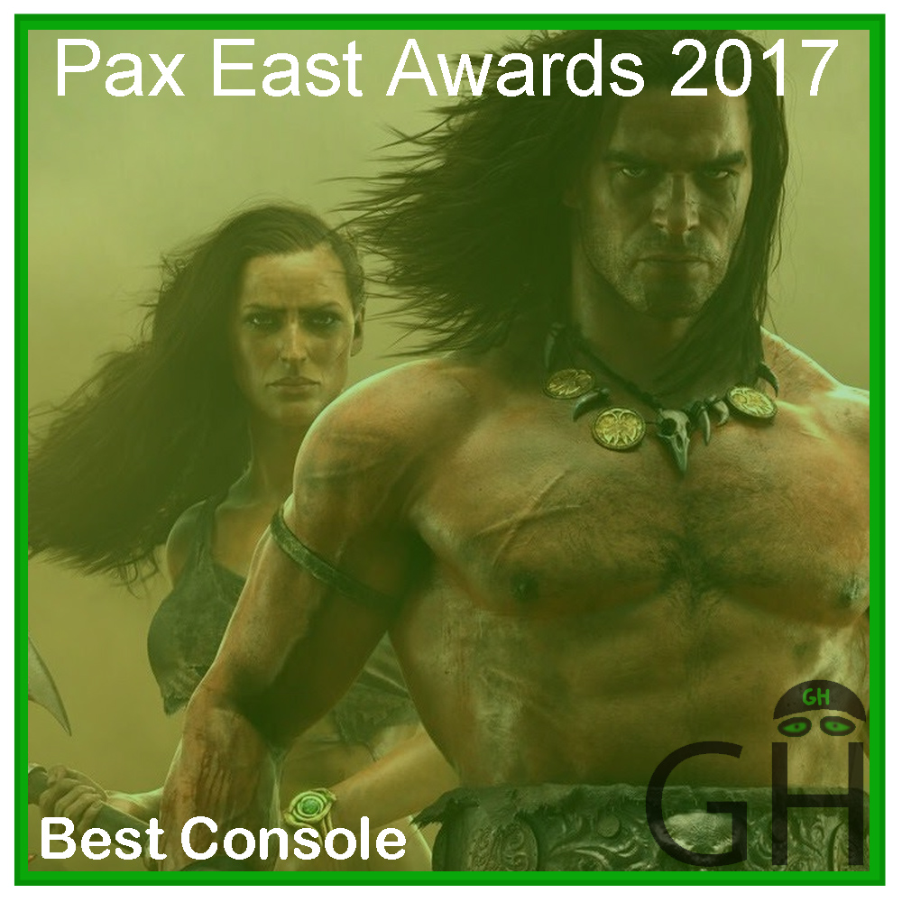 Pax East 2017 Award Best Console Game Conan Exiles
