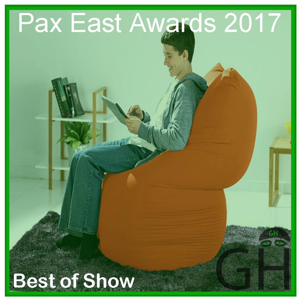Pax East 2017 Award Best of Show Yogibo